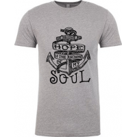 HOPE IS THE ANCHOR OF MY SOUL - T-SHIRT HOMMES - TAILLE S