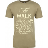 WALK BY FAITH - T-SHIRT HOMMES - TAILLE S