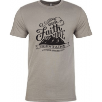 OUR FAITH CAN MOVE MOUNTAINS - T-SHIRT HOMMES - TAILLE S